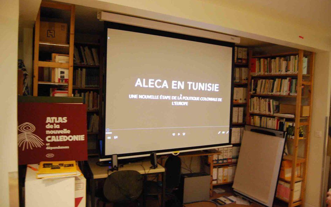 ALECA en Tunisie – Nouvelle étape de la politique coloniale de l'Europe. Film Novembre 2018