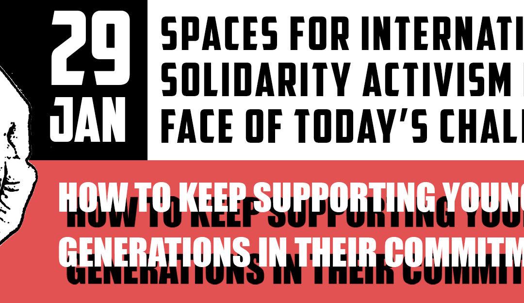 Webinaire FSM 2021 : Les espaces d'engagement dans la solidarité internationale face aux défis d'aujourd'hui