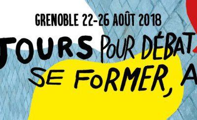 E&P en août à Grenoble